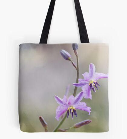Chocolate Lily Tote Bag