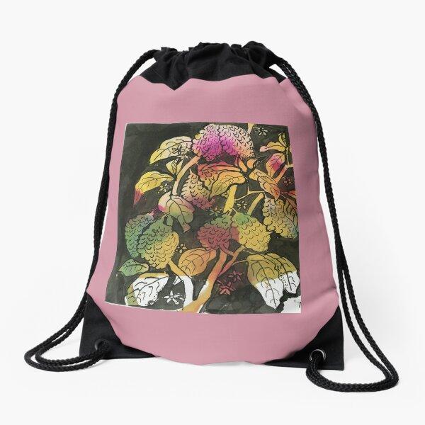 MEXICAN COFFEE BEAN PLANT watercolour Drawstring Bag