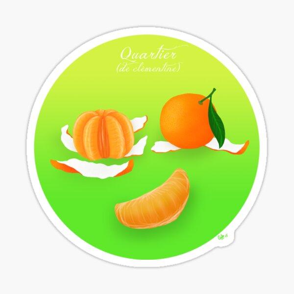 Clémentine Sticker