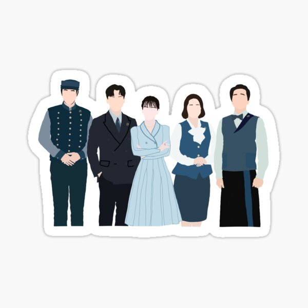 Hotel del Luna Korean Drama Sticker