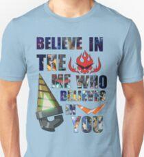 Gurren Lagann Kamina Quote Slim Fit T-Shirt
