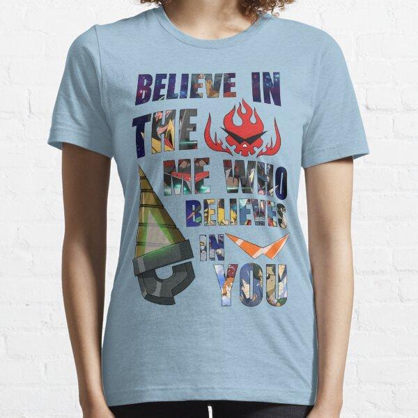 Gurren Lagann Kamina Quote Essential T-Shirt