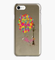 Love to Ride my Bike with Balloons even if it's not practical. iPhone Case/Skin