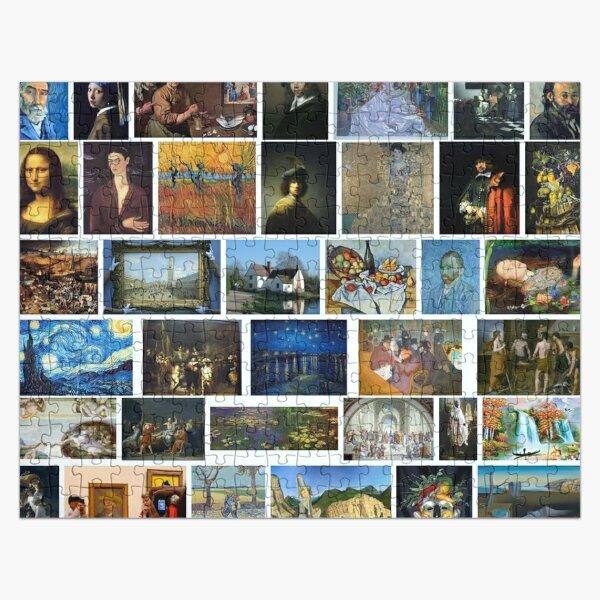 Most Famous Paintings #Most #Famous #Paintings #FamousPaintings VanGogh StarryNight VincentVanGogh Jigsaw Puzzle