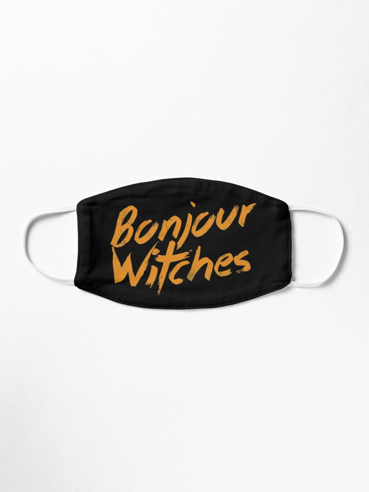Alternate view of Bonjour Witches | Halloween Sarcasm Mask