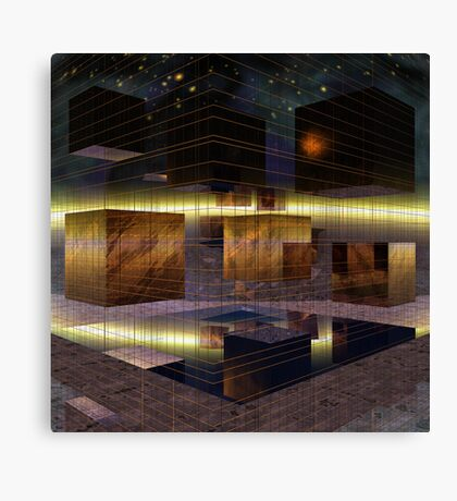 Squares and Mirrors Canvas Print