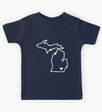 Michigan Kids Tee