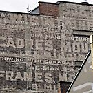 Ghost Sign and Sign by Ethna Gillespie