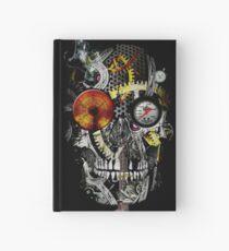 steam powered skull Hardcover Journal