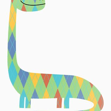 Argyle the Apatosaurus by Sandhop