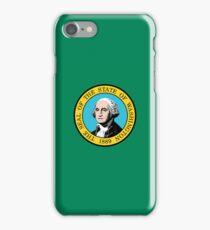 Smartphone Case - State Flag of Washington III iPhone Case/Skin