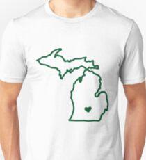 Green & White T-Shirt