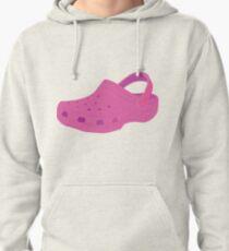 Pink Croc Shoe Pullover Hoodie
