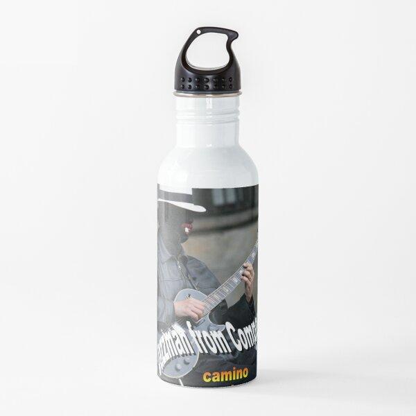 JAZZMAN FROM COMPOSTELA ícono musical de Santiago de Compostela (Spain) Botella de agua