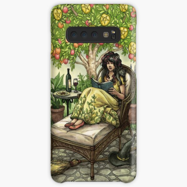 Everyday Witch Tarot - Nine of Pentacles Samsung Galaxy Snap Case