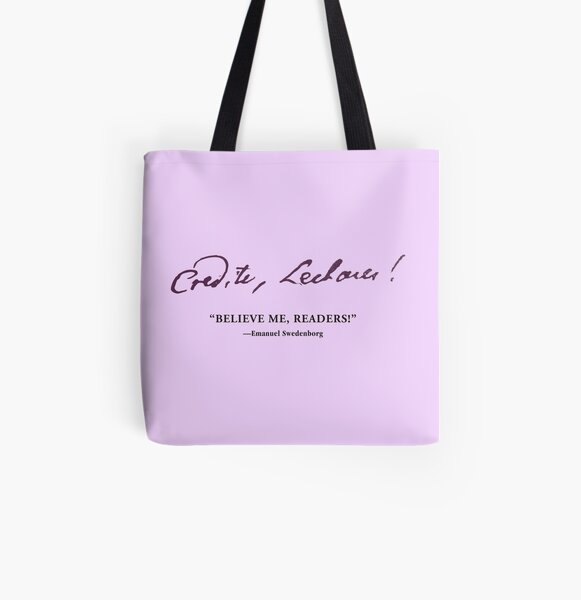 NCE Believe Me Readers! All Over Print Tote Bag