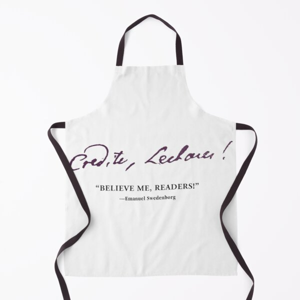 NCE Believe Me Readers! Apron