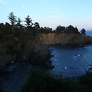 Moon over Anchor Bay by teresalynwillis