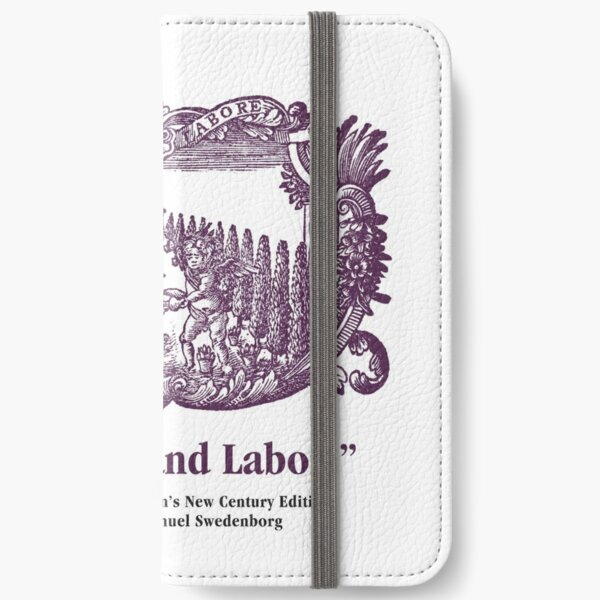 NCE With Care and Labor iPhone Wallet