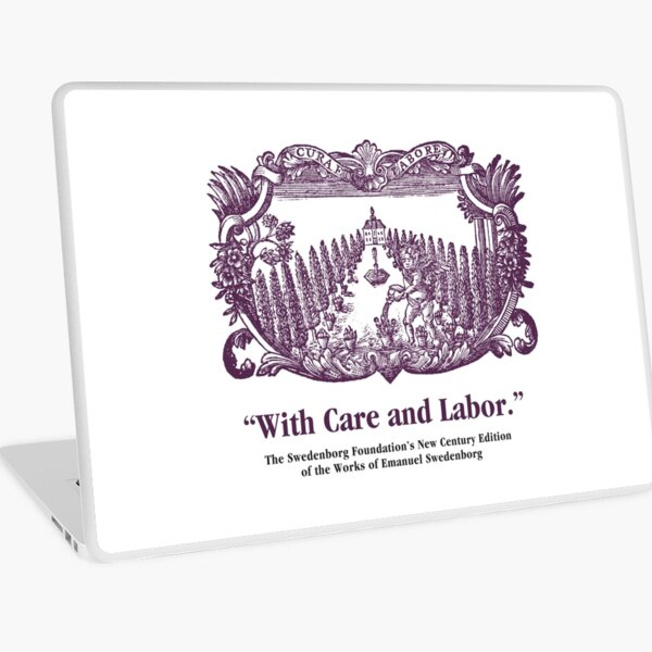 NCE With Care and Labor Laptop Skin