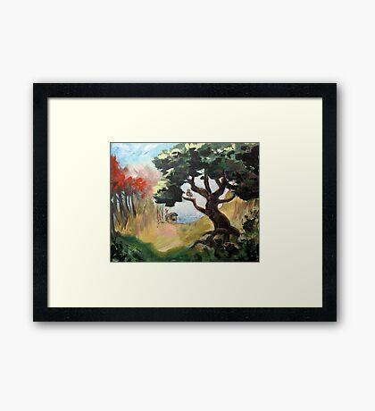 Bubo's Tree Framed Print