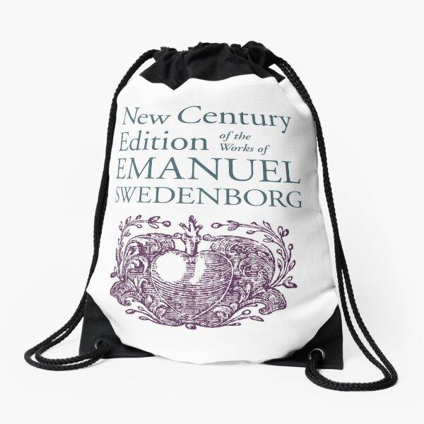 NCE emblem vertical Drawstring Bag