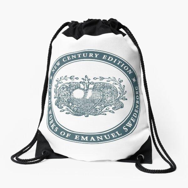 NCE logo green Drawstring Bag