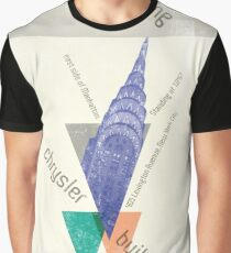 crysler building NY Graphic T-Shirt