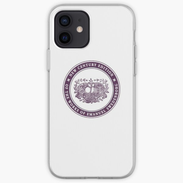 NCE logo purple iPhone Soft Case