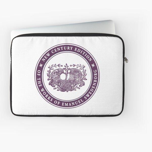 NCE logo purple Laptop Sleeve