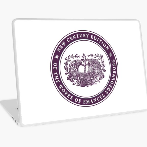 NCE logo purple Laptop Skin