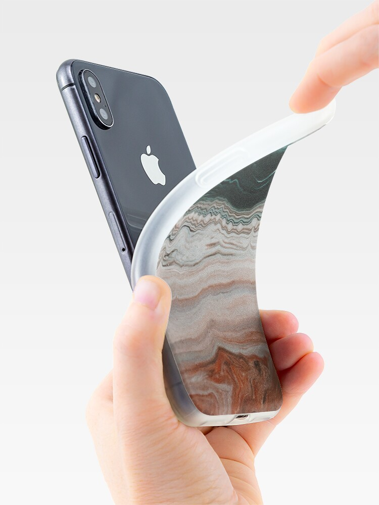 Alternate view of Melting stone iPhone Case & Cover