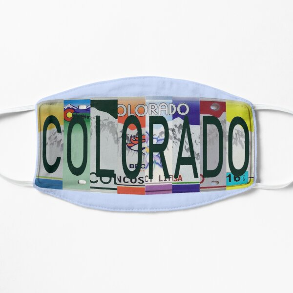 Colorado License Plates Mask