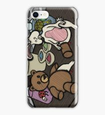 Teddy Bear And Bunny - Lab Experiments iPhone Case/Skin