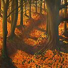 autumn pathy by Rebecca Tun