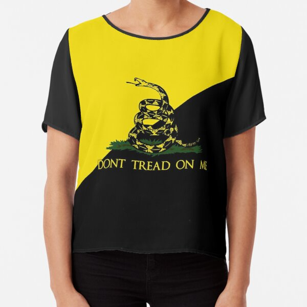 dont tread on me Blusa