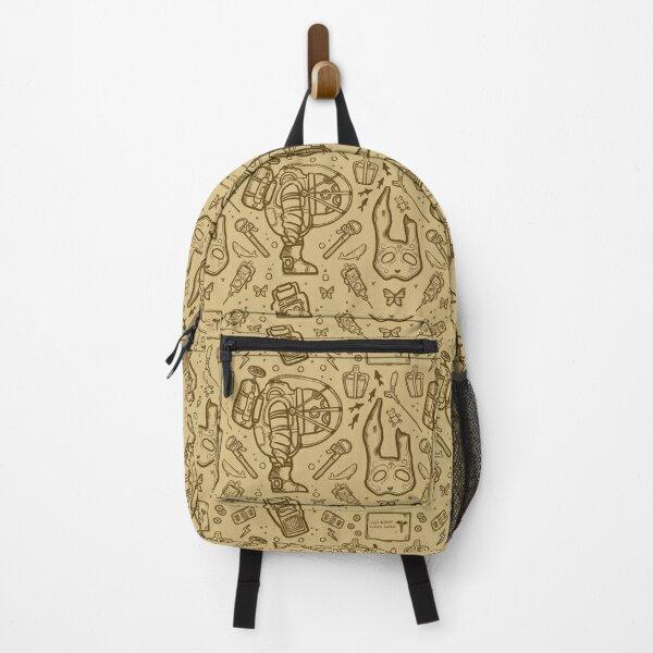 Bioshock Rapture Items Pattern Vintage  Backpack