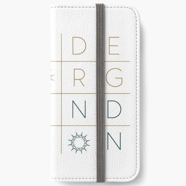 """Swedenborg Foundation """"Grid Design"""" 1 iPhone Wallet"""