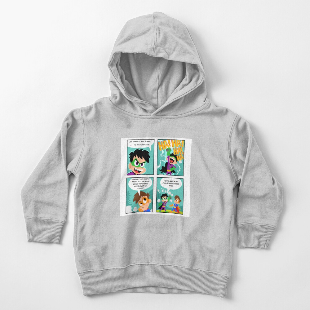 Drew Pendous Comic Cool School Toddler Pullover Hoodie