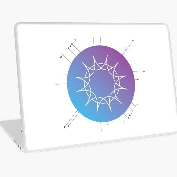 "Swedenborg Foundation ""Sun Design"" Laptop Skin"