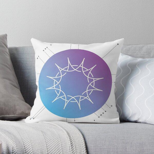"Swedenborg Foundation ""Sun Design"" Throw Pillow"