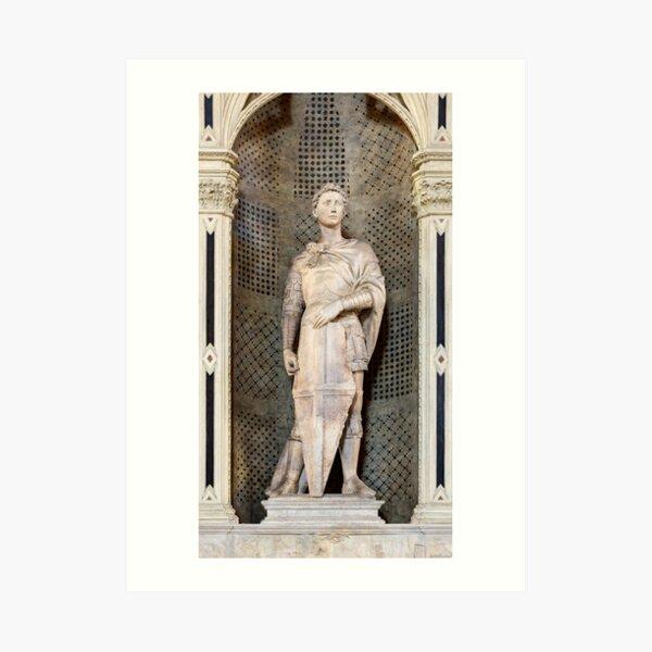 Saint George Donatello Art Print