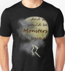 Monsters together Unisex T-Shirt