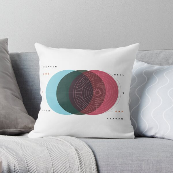Emanuel Swedenborg's Heaven and Hell Throw Pillow