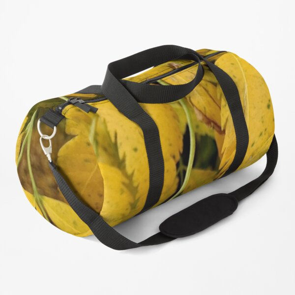 Wisteria Leaves in the Fall Duffle Bag
