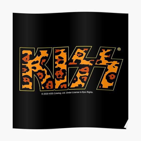 KISS (Cheetah Logo) Poster