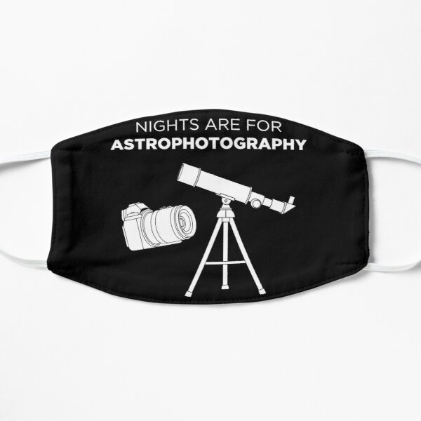 Funny Photographer Nights Are For Astrophotography design Flat Mask
