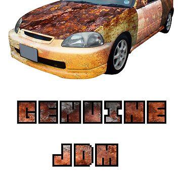 Genuine JDM Rust Civic by MarlboroMike