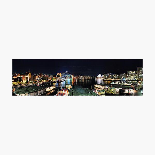 Circular Quay ferry wharf Photographic Print