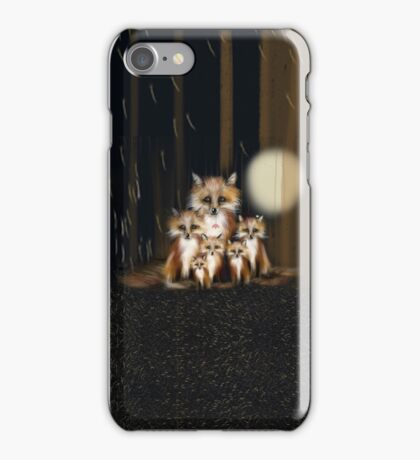 Fox Family iPhone Case/Skin